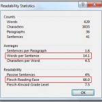 A Totally Simple Quick Way to Measure Readability