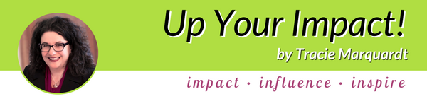 Up Your Impact Newsletter Header